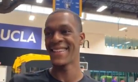 Rajon Rondo Cracks Joke About What He Misses Using His Injured Right Hand For