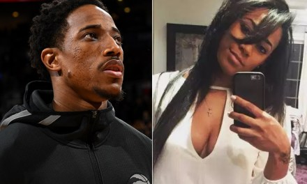 DeMar DeRozan's Baby Mama Kiana Morrison Dropped 100K in the Club