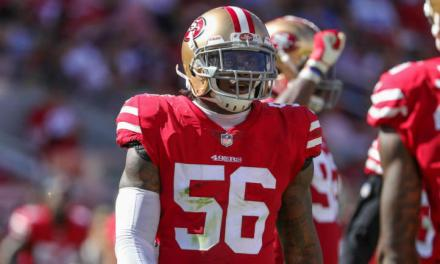 Reuben Foster and His Girlfriend were Involved in a Domestic Disturbance in October as Well