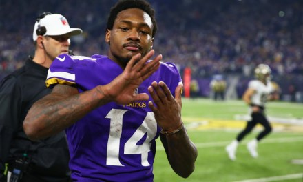 Stefon Diggs Wore Super Nintendo Themed Cleats on Sunday Night Football