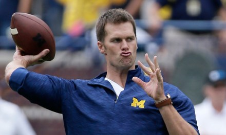 """Tom Brady Lost a Bet on the Michigan and Ohio State Game, Says the Wolverines """"Can't Win a Big Game"""""""