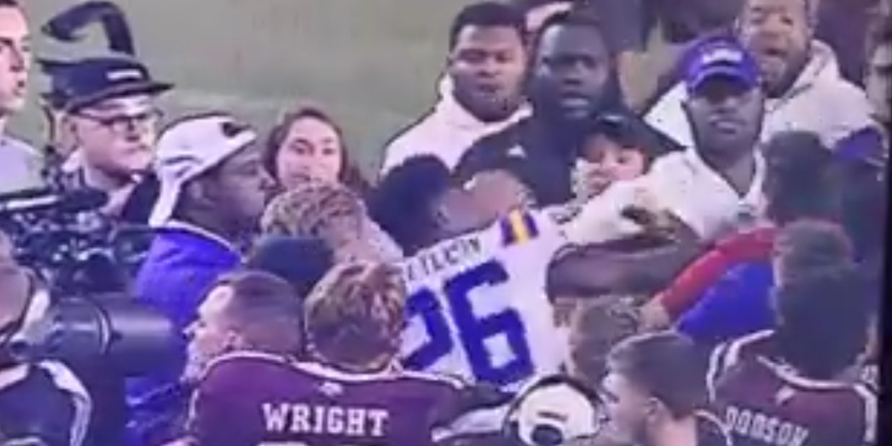 New Angles Show that Cole Fisher Did Not Punch an LSU Coach in the