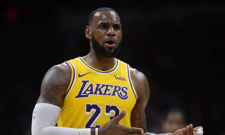 LeBron Says He Didn't Give Nuggets Recruiting Him Much Thought