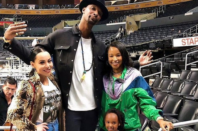 LeBron's Daughter Zhuri Poses Like A Champ with the Bosh Family