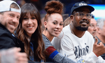 Von Miller and Megan Denise Went on a Date Night at a Nuggets Game with Case and Kimberly Keenum