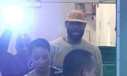 LeBron and Savannah James Have a Date Night in Beverly Hills
