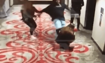 Video Surfaces of Kareem Hunt Shoving and Kicking a Woman in a Cleveland Hotel
