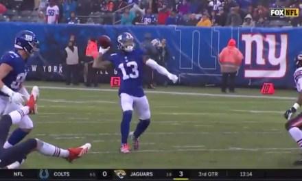Giants Receiver Odell Beckham Jr. Threw a 49-Yard Touchdown Pass