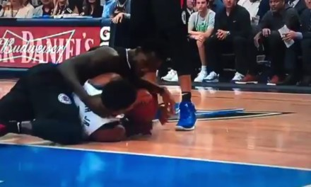 Patrick Beverley Knocked Dennis Smith Jr.'s Tooth Out Fighting for a Loose Ball
