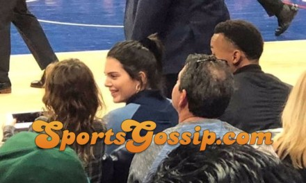 Kendall Jenner Took in Another Philadelphia Sixers Game