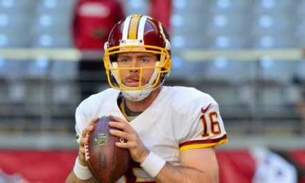 Redskins QB Colt McCoy Suffered a Season Ending Injury During Loss to Eagles on Monday Night Football