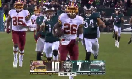 Adrian Peterson Held Under 100 Yards Even with a 90 Yard Touchdown Run