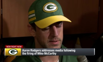 Aaron Rodgers Addresses Mike McCarthy Firing