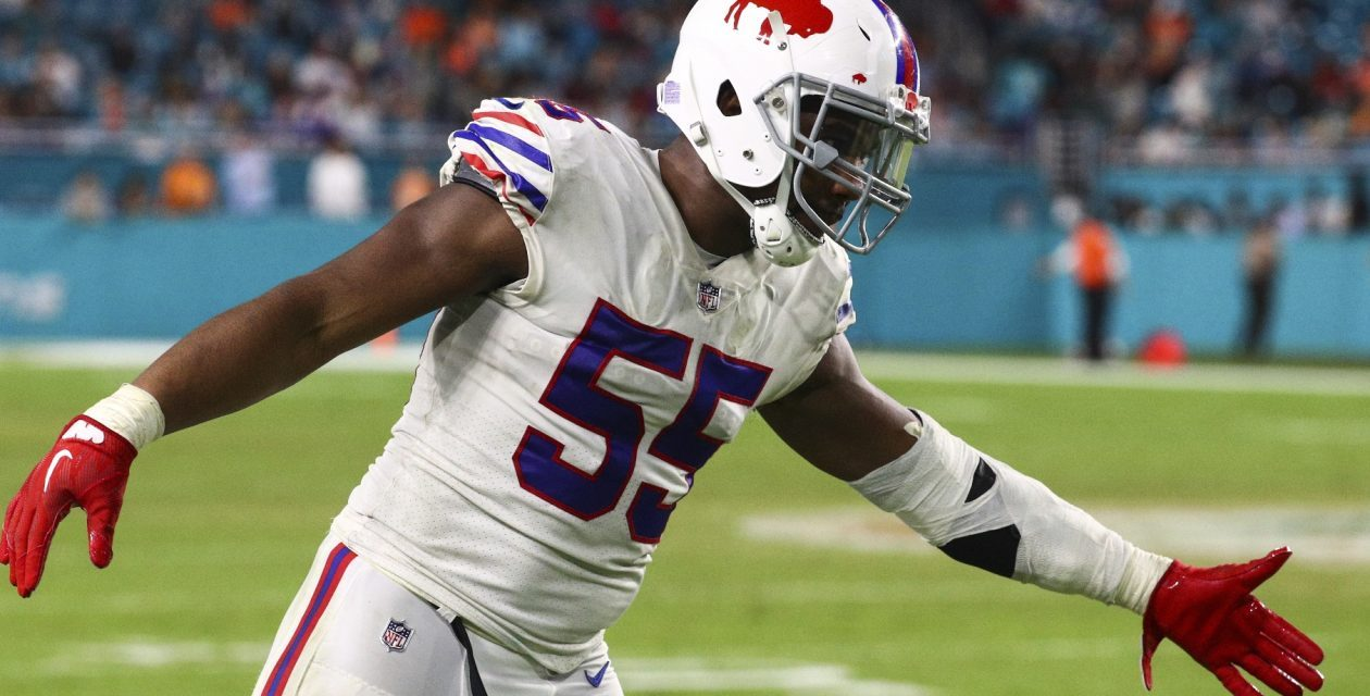 NFL Official Placed on Administrative Leave while Investigation into Heated Exchange with Bills DE Jerry Hughes