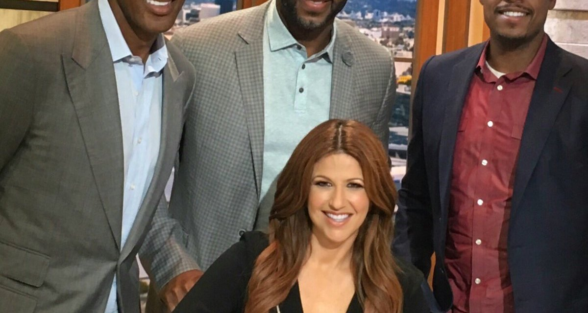 Scottie Pippen Getting his Instagram Flirt on with Rachel Nichols
