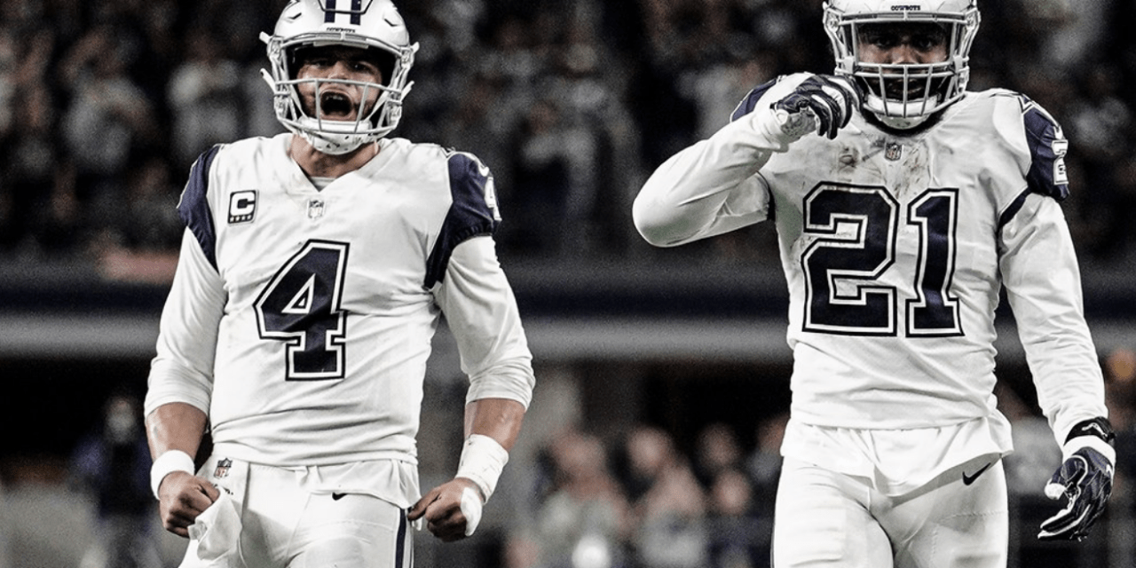 Dak Prescott and Ezekiel Elliott's Lucky Charm is Their Long Sleeves