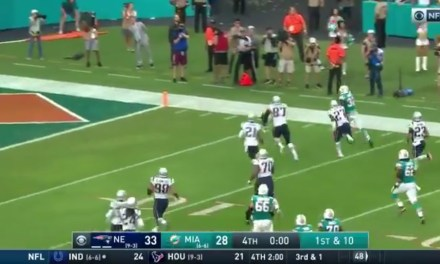 Dolphins Beat the Patriots on a Wild Last Second Lateral Play