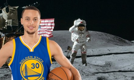 Steph Curry Doesn't Believe Humans Have Been to The Moon