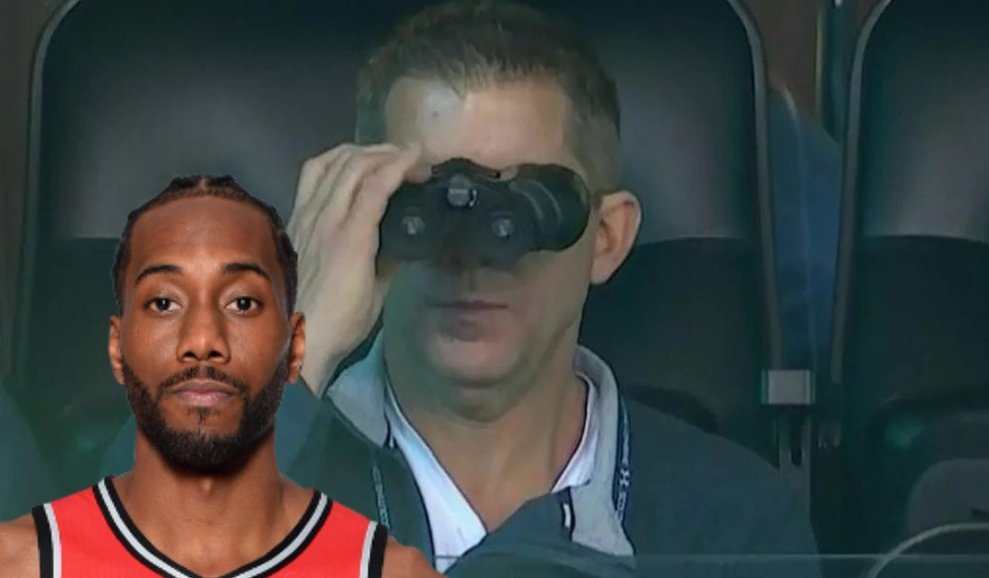 Toronto Raptors Officials Have Spotted a Clippers Employee at Most of Their Games