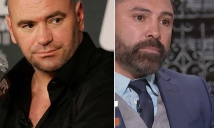 Dana White and Oscar De La Hoya Continue Their War of Words