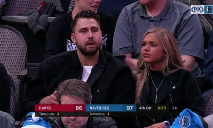 Joey Gallo Spotted at Mavs Game with a New Lady
