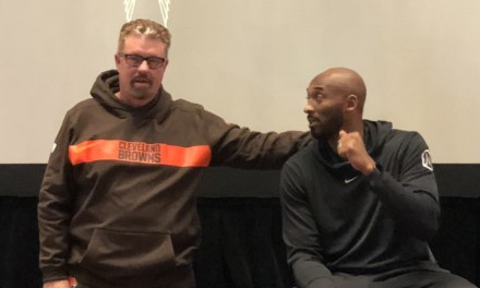 Kobe Bryant Spoke to the Browns ahead of Saturday's Game against the Broncos