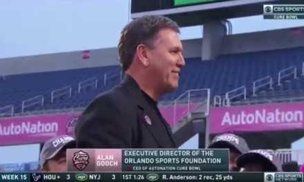 Tulane Won the Cure Bowl then Mocked the Trophy Presenter's Name
