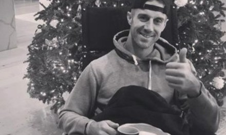 Alex Smith's Wife Shares a Picture of Him Back at Home
