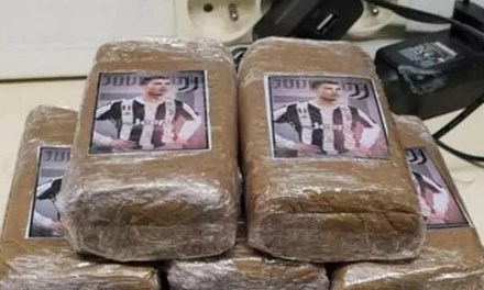 French Police Seize Cannabis and Cocaine Stash With Cristiano Ronaldo's Face on It