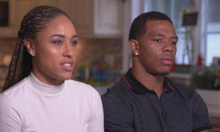 Ray Rice and Wife Janay Speak Out Against Domestic Violence