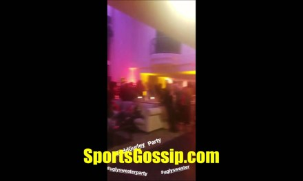 Check out Todd Gurley's Hollywood Hills Christmas Party