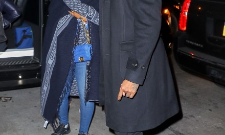 LeBron James and Carmelo Anthony – Double Date Night In NYC