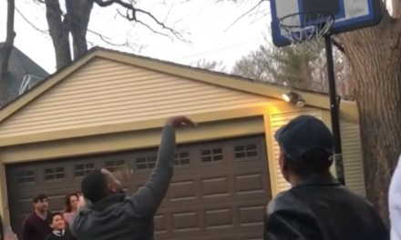 Couple Does Basketball Themed Gender Reveal and the Dad to be Missed the Shot