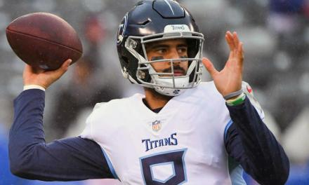 "Marcus Mariota is Going to ""Do His Best to Play"" on Sunday"