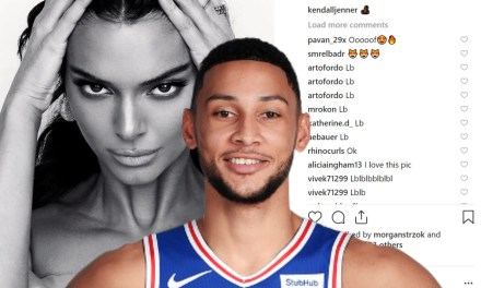 Ben Simmons Getting Flirty in Kendall Jenner's Instagram Comments