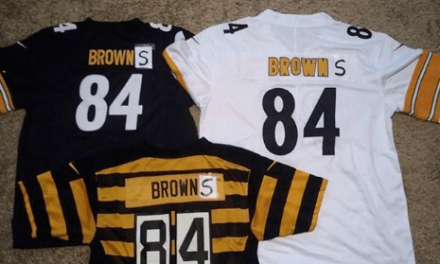 Antonio Brown Updated His Jersey to Become a Browns Fan this Weekend