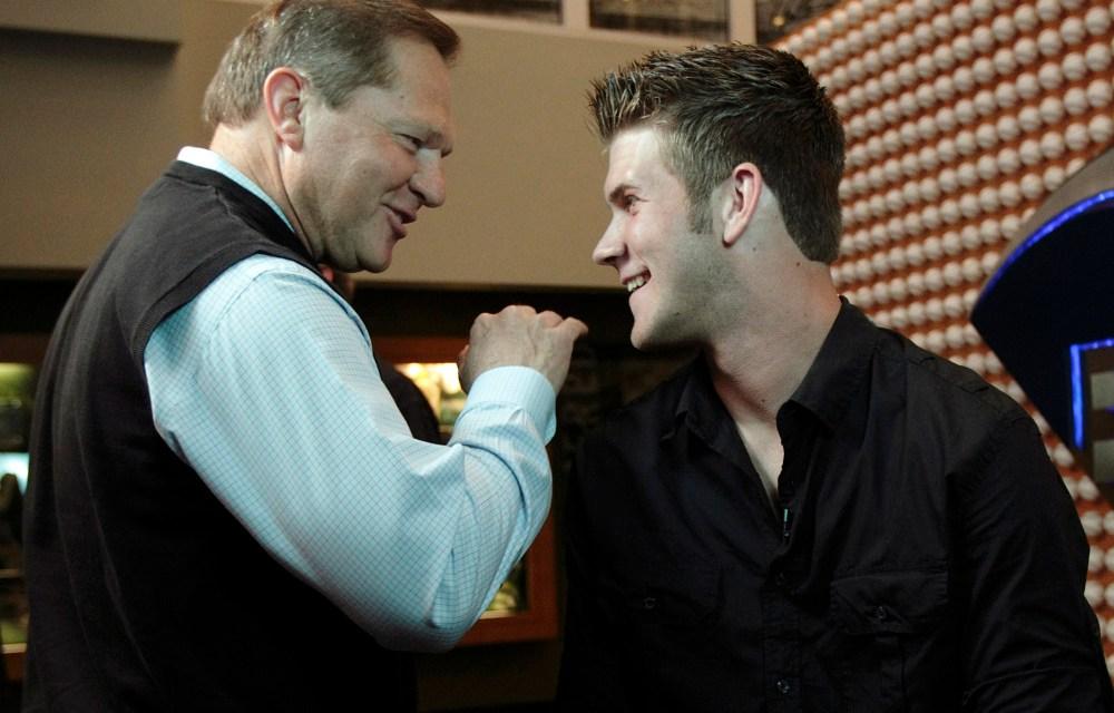 ESPN Reporter Ran Into Scott Boras in Houston Airport, Starts Bryce Harper to Houston Rumors