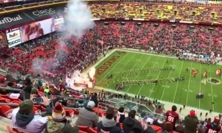 Redskins Fans Boo Team in Half Empty Stadium