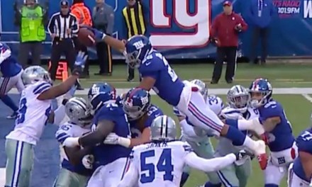 Saquon Barkley Sets Rookie RB mark with 89th Reception and Had a Dunk Like Rushing TD
