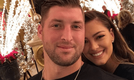 Tim Tebow and Demi-Leigh Nel-Peters Celebrated the New Year Together
