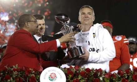 "LeBron Congratulates His ""Friend"" Urban Meyer after Rose Bowl Win"