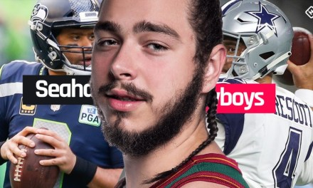 Post Malone Makes Cowboys Prediction; Says They're Going to Crush Seahawks