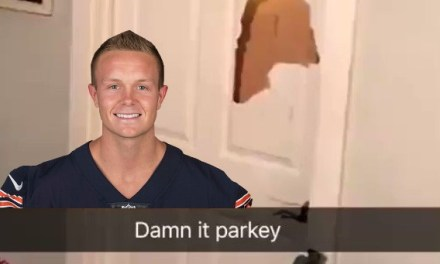 A Bears Fan Smashed his Door on Cody Parkey's Missed FG
