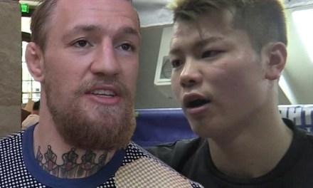 Conor McGregor Asks for MMA Exhibition Fight with Tenshin Nasukawa; He Responds