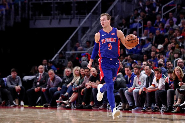 Pistons Luke Kennard Had to be Held Back from Going after His Coaching Staff