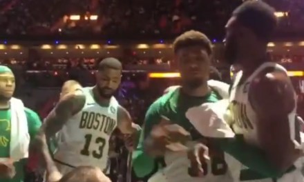 Jaylen Brown and Marcus Morris Had to Be Separated during a Celtics Timeout