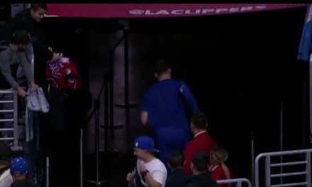 Blake Griffin Ran to the Locker Room when Clippers Owner Steve Ballmer Approached Him for a Handshake
