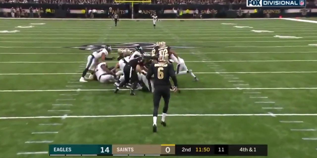 Saints Convert a Fake Punt Deep in Their Own Territory