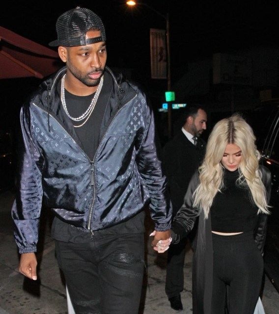 Khloe Kardashian and Tristan Thompson Spotted Out After Cleveland Cavaliers Lakers Game