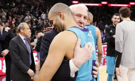 Tony Parker Received a Standing Ovation in Return to San Antonio
